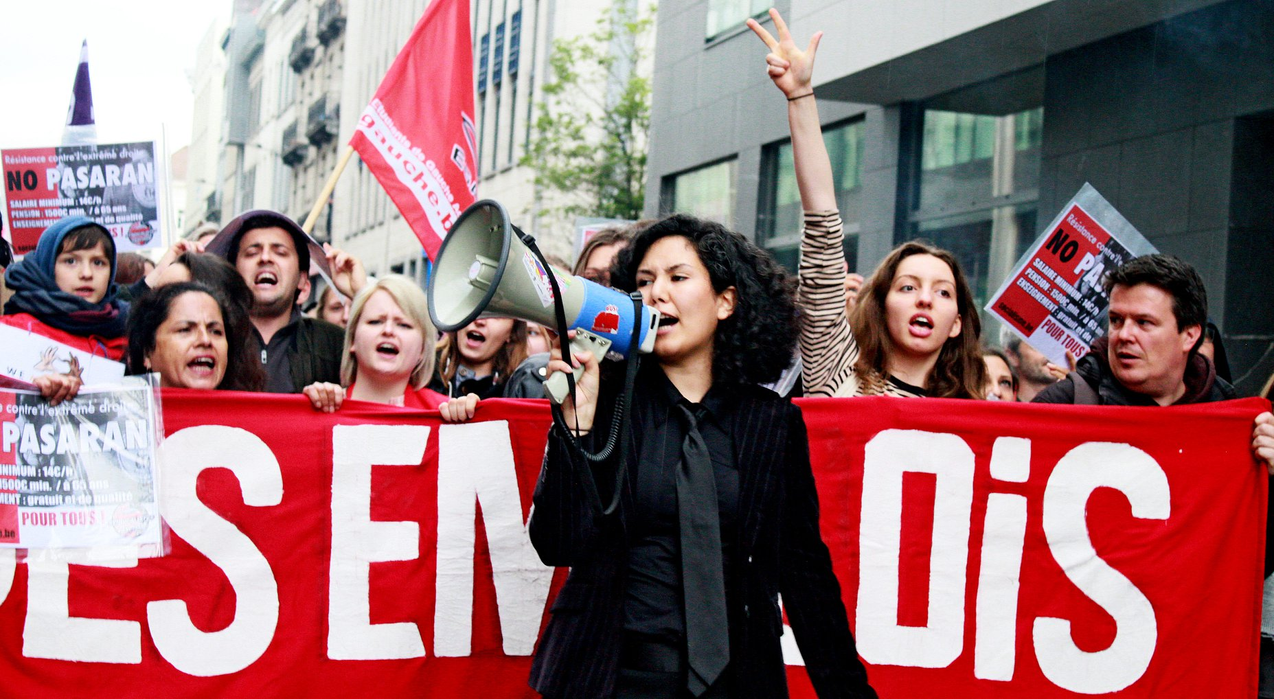 Bruxelles, Gand, Liège : Premières mobilisations antifascistes réussies à la suite du 2e ''Dimanche noir''