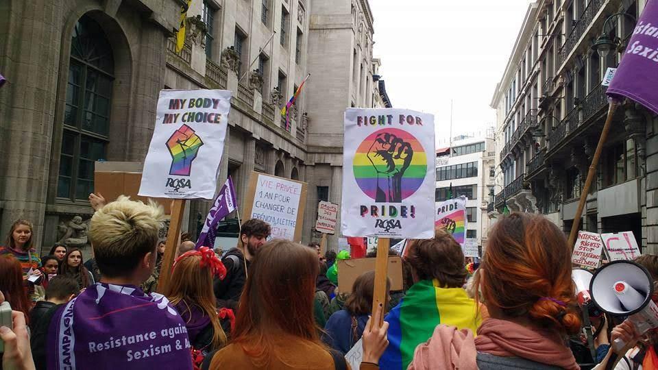Fight for Pride. L'égalité reste à gagner, luttons pour l'imposer !