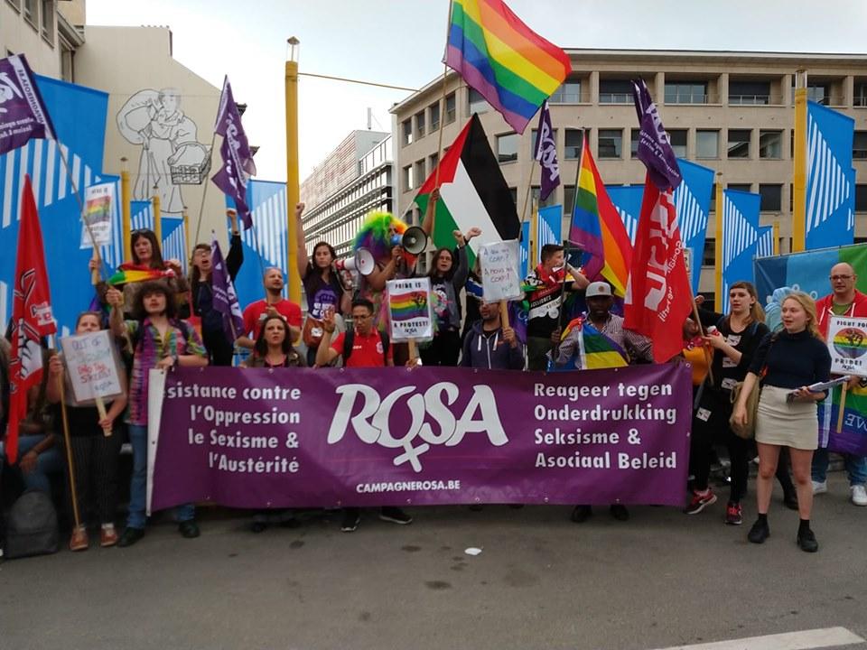 Pride is a Protest : La campagne ROSA était présente à la Pride ce samedi 18 mai !