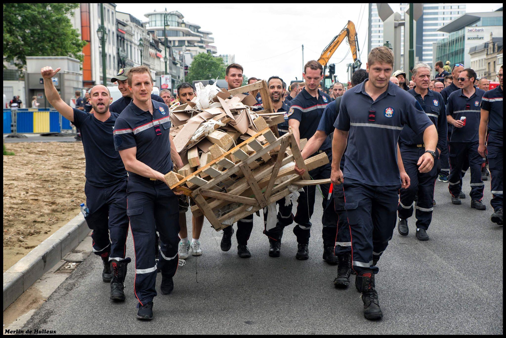 [INTERVIEW] Les pompiers de Bruxelles en lutte : entretien au cœur du mouvement