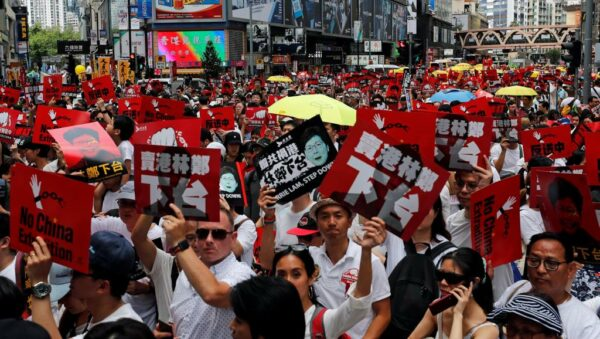 Plus d'1 million de manifestants à Hong Kong contre la loi d'extradition !