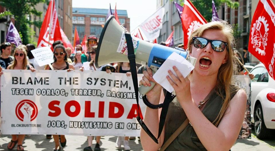 Gand. Manifestation réussie contre la haine et pour une politique sociale