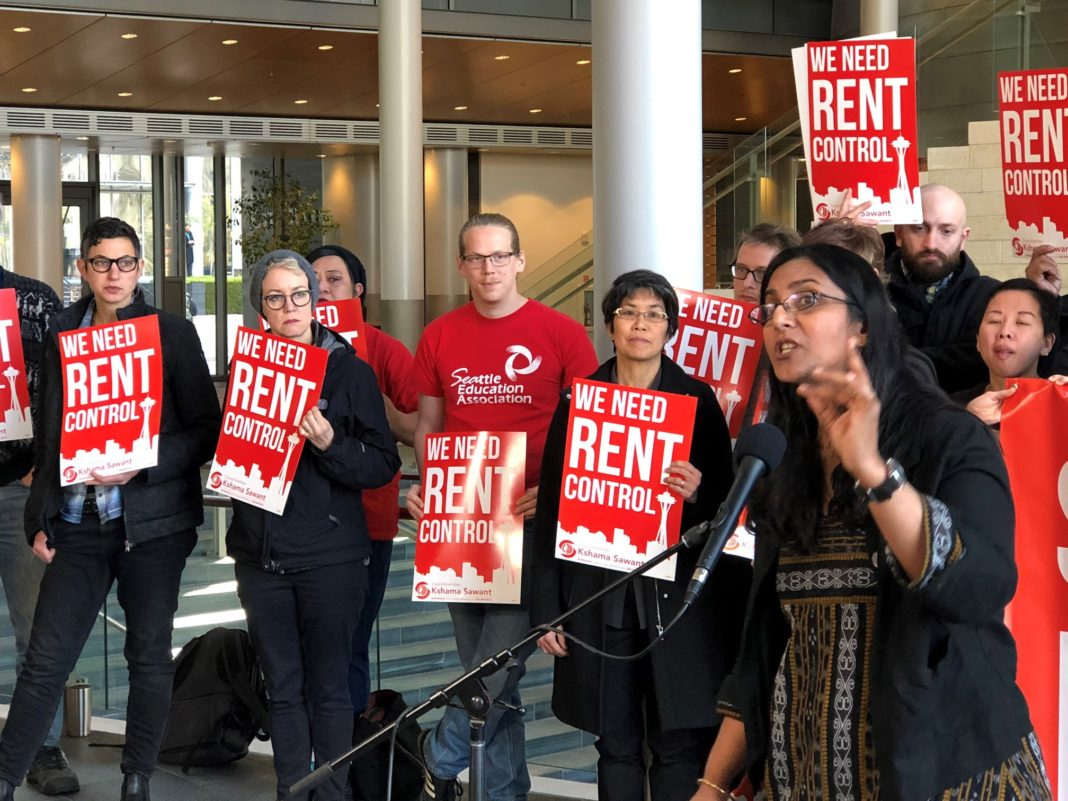 USA. L'importance nationale de la campagne pour la reelection de Kshama Sawant
