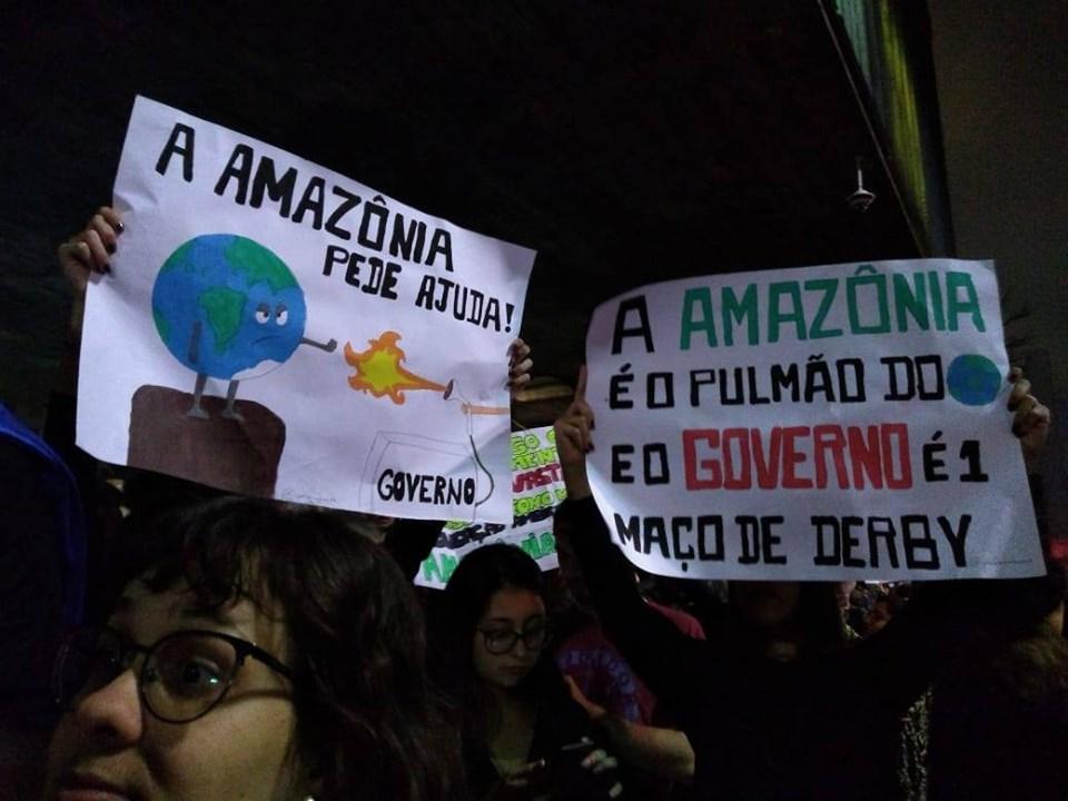 Brésil : Sauvez l'environnement, détruisez le système !