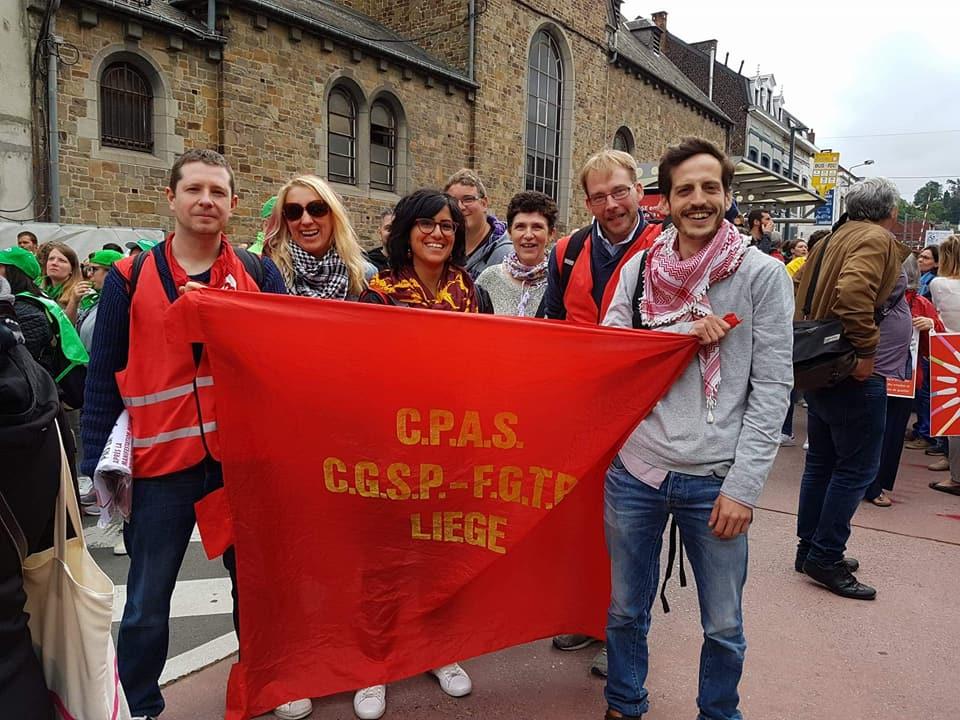 CPAS de Liège : Charge de travail insoutenable, burn-out, démissions, turnover,… ÇA SUFFIT !