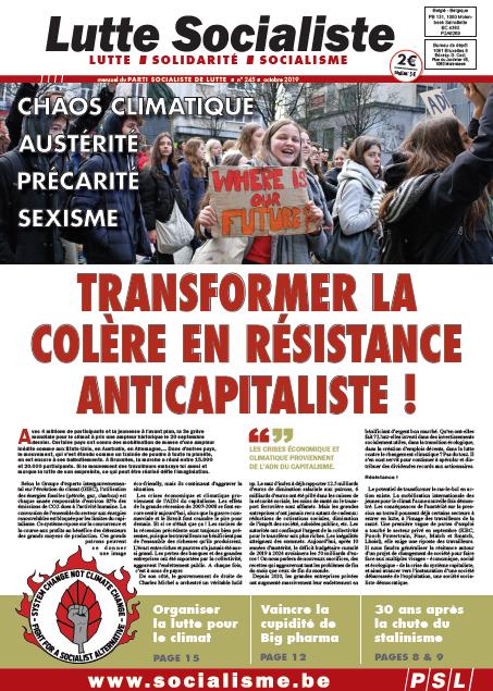 Chaos climatique, austérité, sexisme, précarité,… Transformer la colère en résistance anticapitaliste !