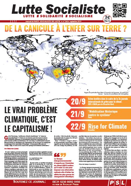 De la canicule à l'enfer sur terre ? Le vrai problème climatique, c'est le capitalisme !