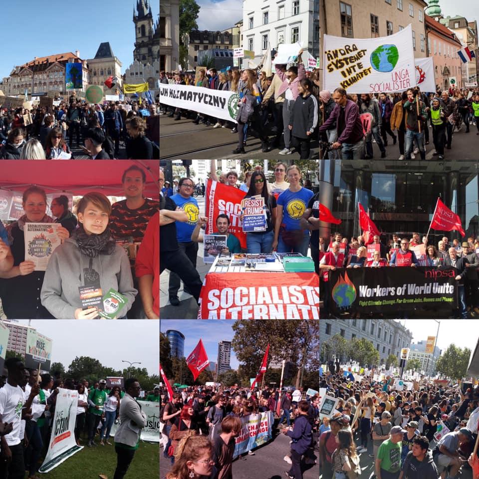 Les interventions du CIO lors de la 3e grève mondiale pour le climat