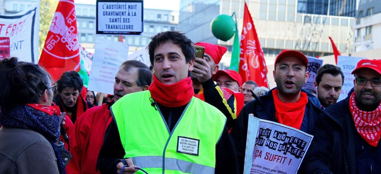 La santé en lutte ! Interview de Karim Brikci, délégué permanent CGSP de l'hôpital Brugmann-Horta