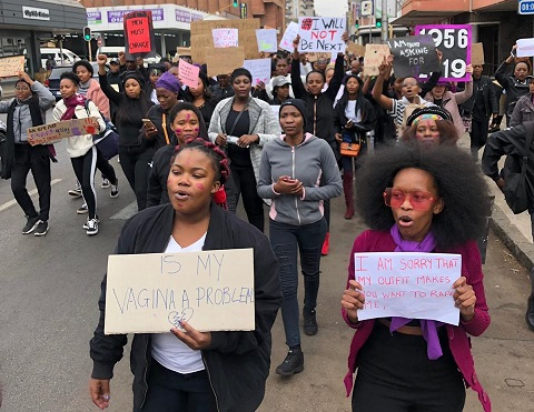 Afrique du Sud. Luttons pour un monde libéré de la violence de genre et de la xénophobie !