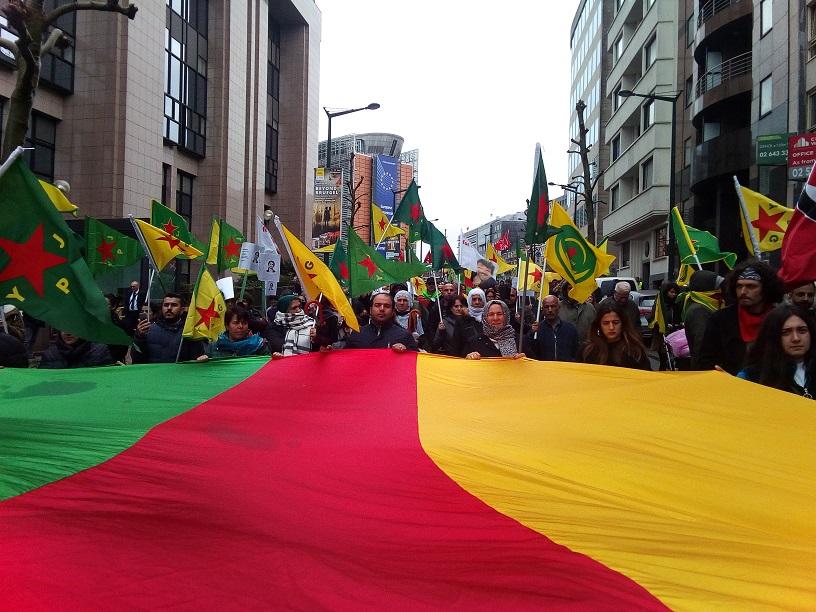 Manifestation contre l'invasion du Rojava à Bruxelles : construisons un mouvement anti-guerre de masse!