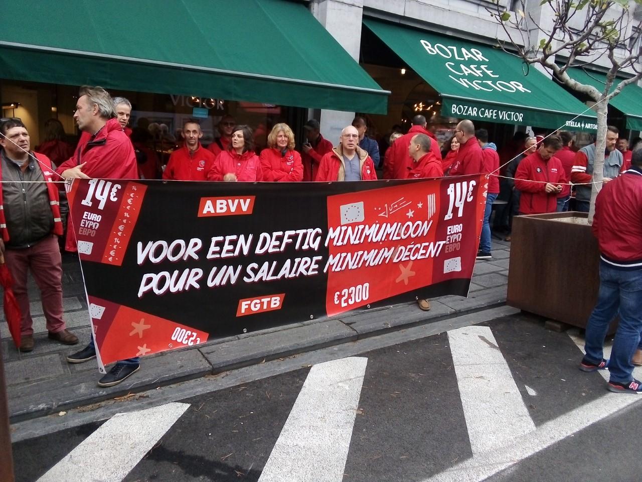 Rassemblement pour les 14€/h : nos augmentations ne doivent pas être payées par la sécu!