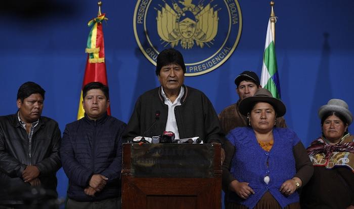 Bolivie. Non au coup d'Etat! Combattons la droite et l'impérialisme dans toute l'Amérique latine!