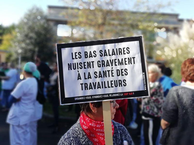 7 novembre – Grève des services publics locaux de Bruxelles contre la précarité