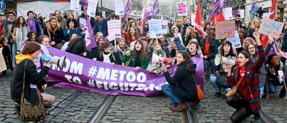 [VIDEO] La Campagne ROSA à la manifestation contre les violences faites aux femmes