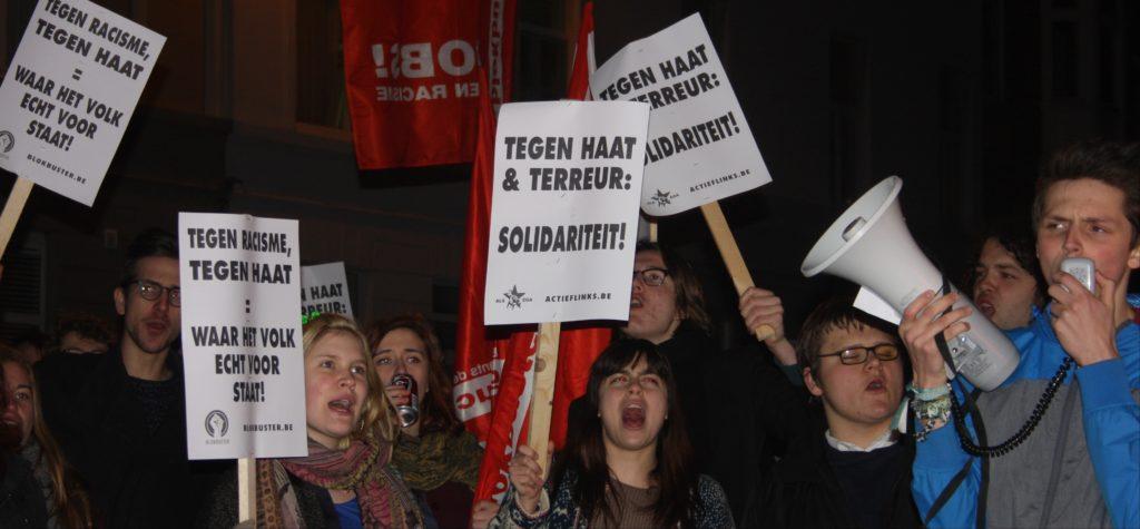 Lundi nous protesterons contre la venue de Salvini à Anvers