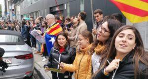 La Catalogne se soulève  suite à la lourde condamnation des prisonniers politiques
