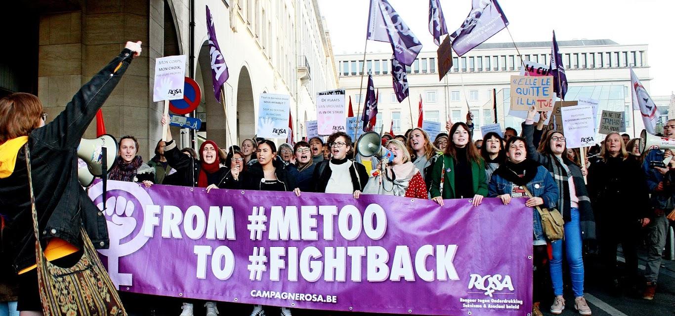 Entre 10.000 et 15.000 personnes à Bruxelles pour dire stop aux violences sexistes!