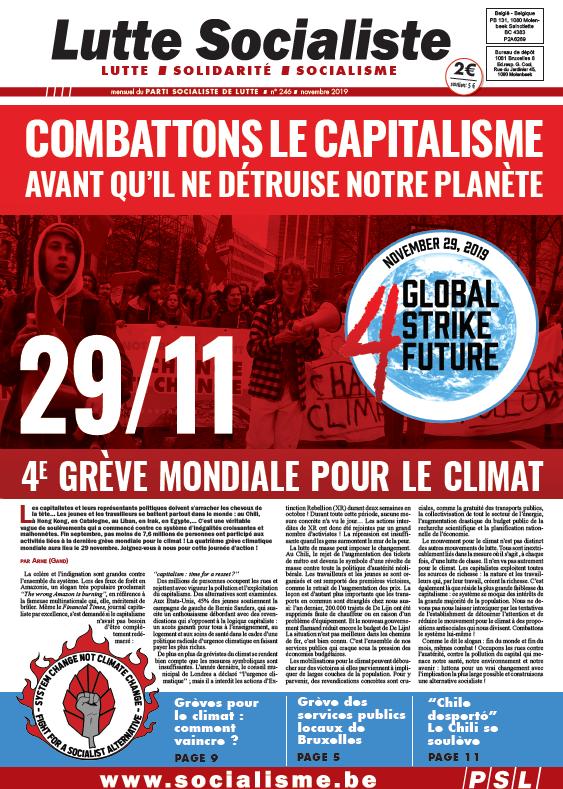 Combattons le capitalisme avant qu'il ne détruise notre planète !