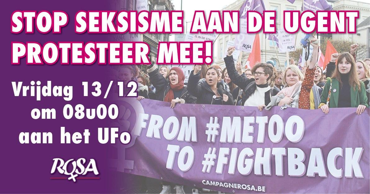 Après le scandale de la vidéo d'Hoeyberghs : Pas de sexisme à l'Université de Gand!