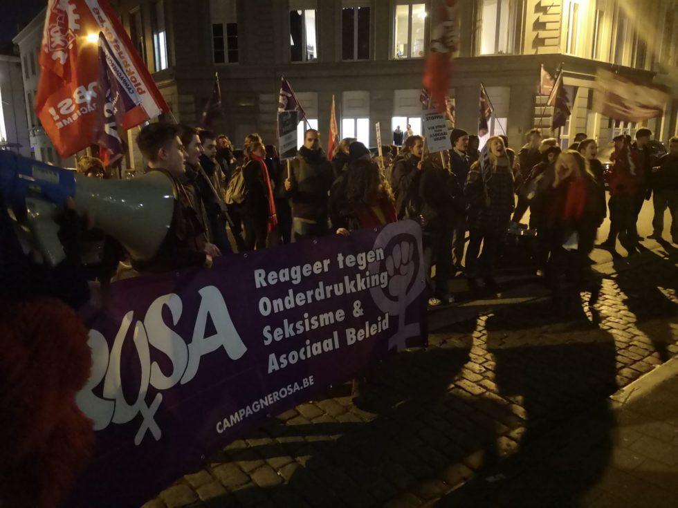 Gand: l'extrême droite sur la défensive après une action antisexiste