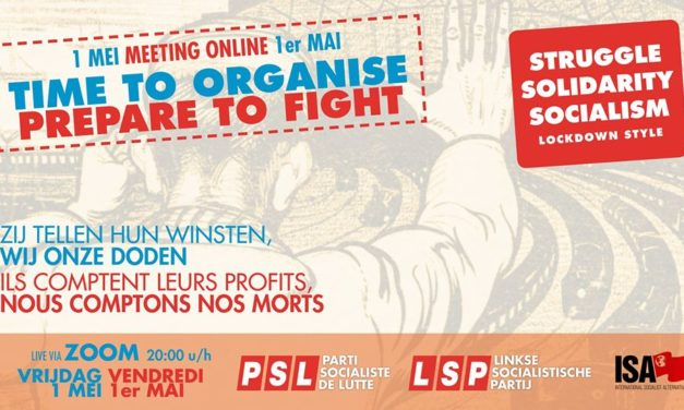 Meeting du 1er mai du PSL / LSP – Time to Organise, Prepare to Fight