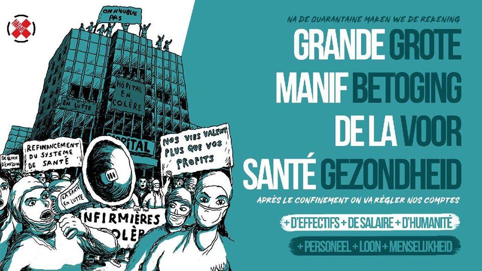 ENTRETIEN La Santé en Lutte ''Aujourd'hui on soigne, demain on réglera les comptes !''